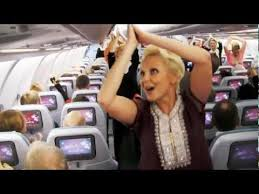 Finnish Flight Attendants Surprise Passengers With Bollywood Dancing