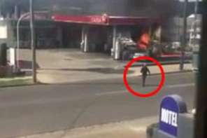 Heroes Save Elderly Couple From Gas Station Fire In Australia: Caught On Video