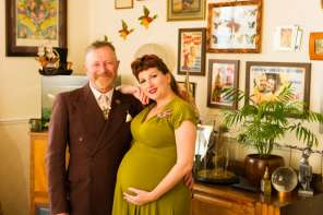 Time Warp: New Parents Live The Lifestyle Of The 1940's