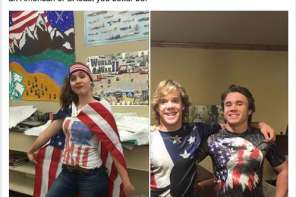 Students Show Patriotism When America Day Is Banned For Being Too Offensive