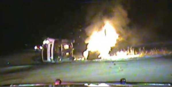 good-samaritan burning wreck