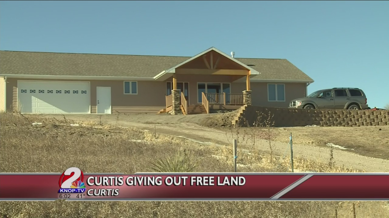 curtis giving out free land