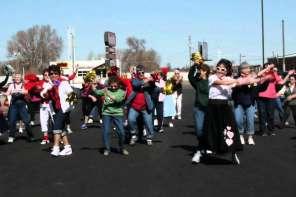 Best Senior Flash Mob