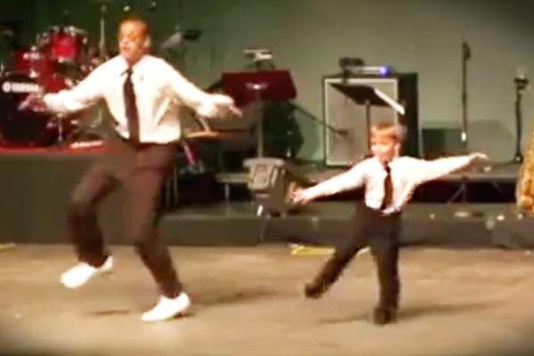 tiny tap dancer