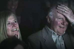 Grandparents Receive An Amazing Surprise In A Movie Theatre