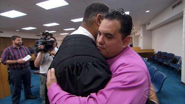 judge spends night in jail