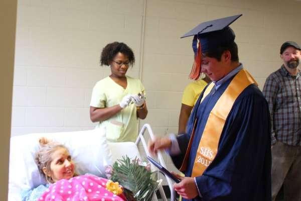 son graduates early