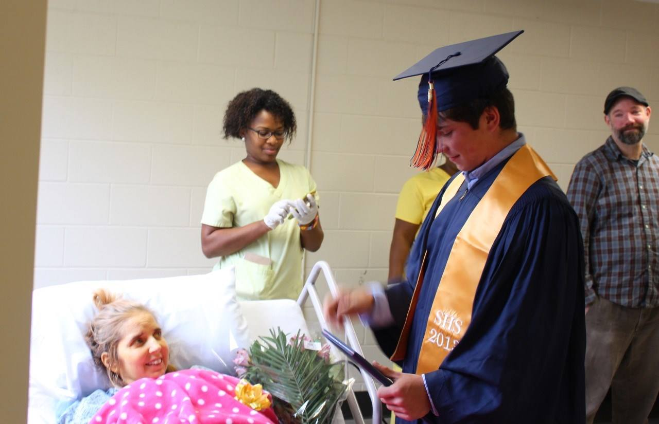 School Leaders Rush To Get Diploma Show Mother Before She Passes Away