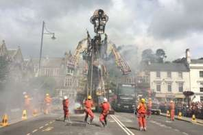 UK's Largest Mechanical Puppet Unveiled For The First Time