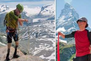 This Inspirational Mountaineer Proves Limbs Are No Obstacle