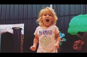 Toddler Sings An Alphabet Song That Goes Viral