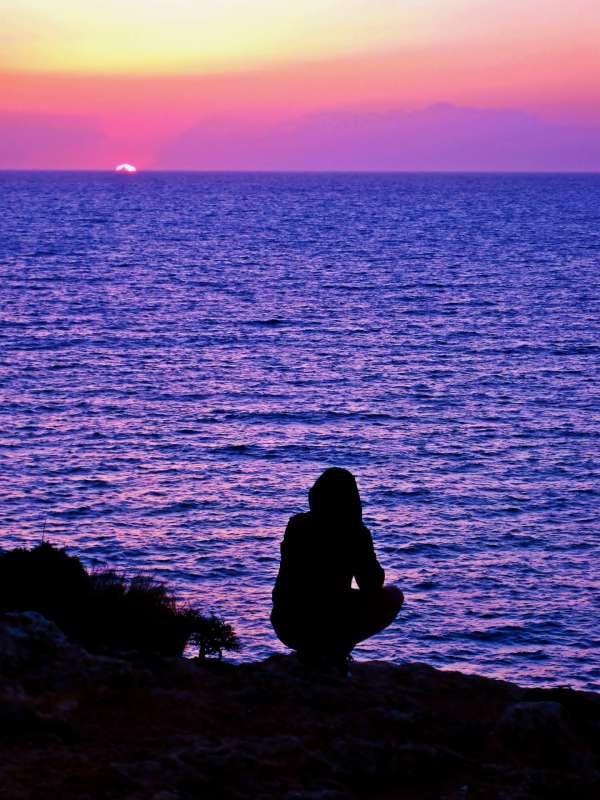 sihouette-sunset