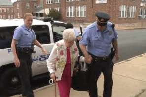 102 Year Old Woman Wanted To Be Arrested And Handcuffed So That She Could Check It Off Bucket List