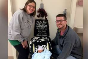 Newborn Baby Shares Same Birthday As Both Parents