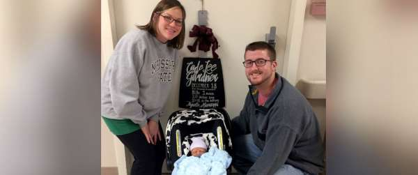 baby shares birthday with parents