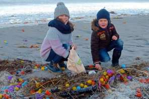 Easter Comes Early To This Island Beach