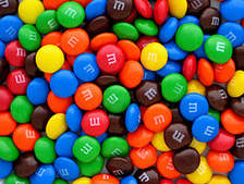 m and ms candies