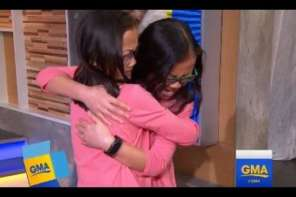 Twin Sisters From China Reunite On Good Morning America