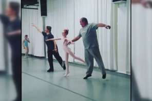 Daddy Daughter Day At Ballet Class