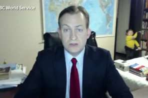 Hilarious BBC Interview Goes Wrong And Goes Viral