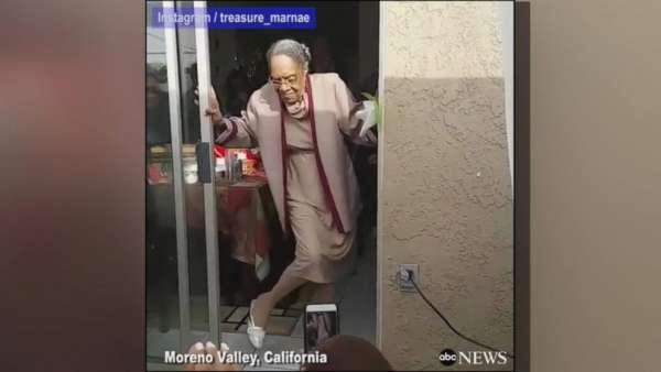 great grandmother celebrates 100th birthday