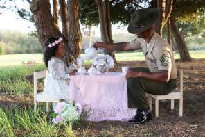 Marine Dad Surprised With Photo Shoot With His daughter