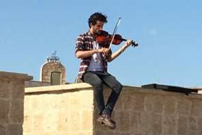 Defiant Violinist Plays Free Concert In Mosul To Counter Isis And Be A Hope Maker