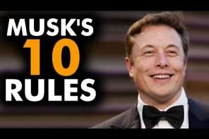 Elon Musk's Top Ten Rules For Success