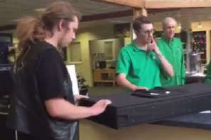 Father Surprises Son After He Had Passed Away