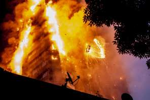 Man Catches Baby From Tenth Floor of Grenfell Tower Inferno