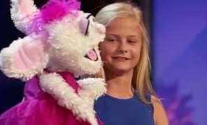 12 Year Old Singing Ventriloquist Gets Golden Buzzer