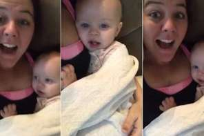Very Cute: Mom Sings I love You And Baby Responds The Same Way