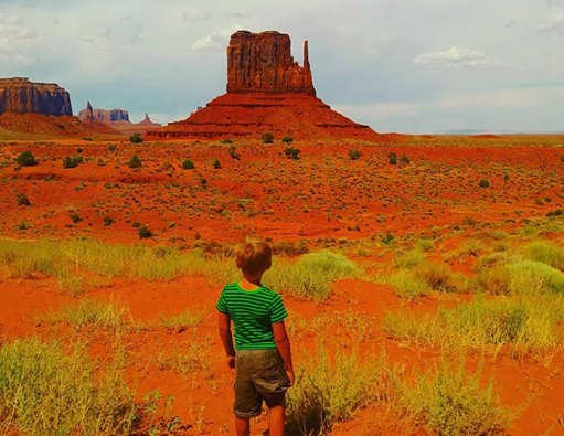 monument valley boy july