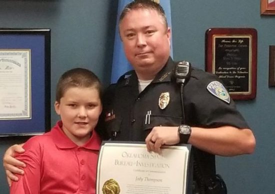 police officer adopts child He saved from Severe Abuse