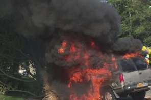 Good Samaritans Pull Driver From Burning SUV