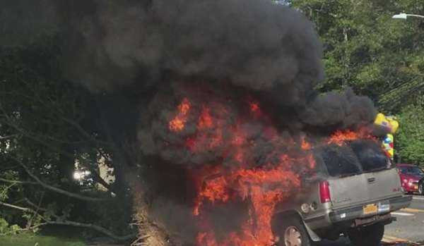 samaritans pull driver from burning suv