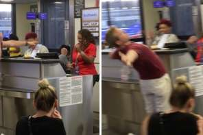 Airline Passenger Bursts Into Song At Airport