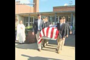 High School Seniors Hold Funeral For Homeless Veteran