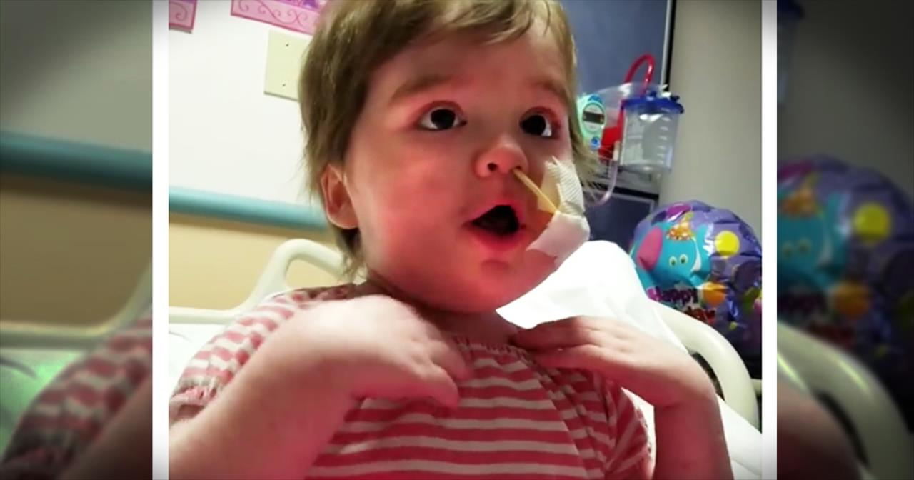 Little Girl Won't Let Sickness Get Her Down