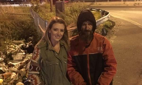 homeless man buys home