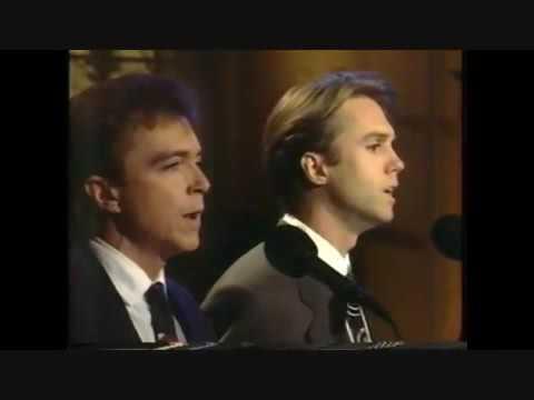 shaun and David sing together