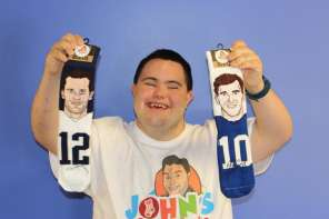 Man With Down Syndrome Starts Million Dollar Sock Company