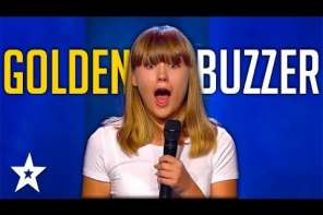 Girl Sings Michael Jackson Song And Gets Golden Buzzer