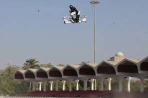 This Amazing Hover bike Can Fly