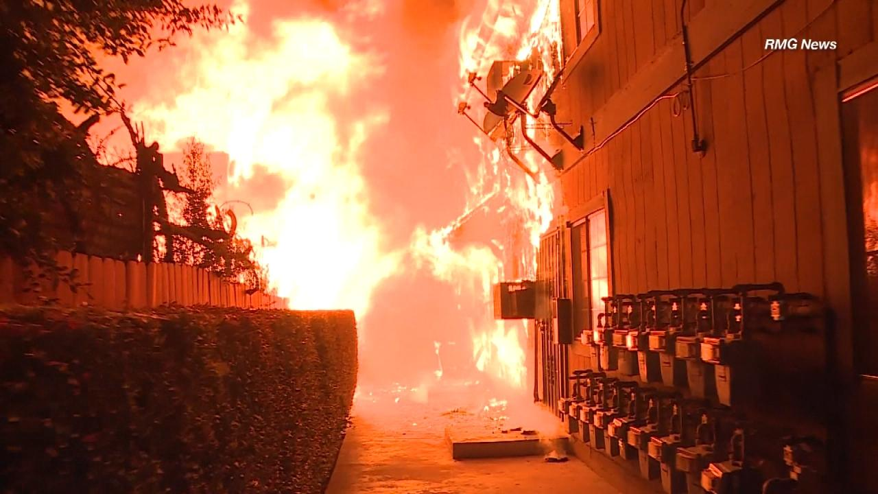 Samaritans Save families From Raging Apartment Fire