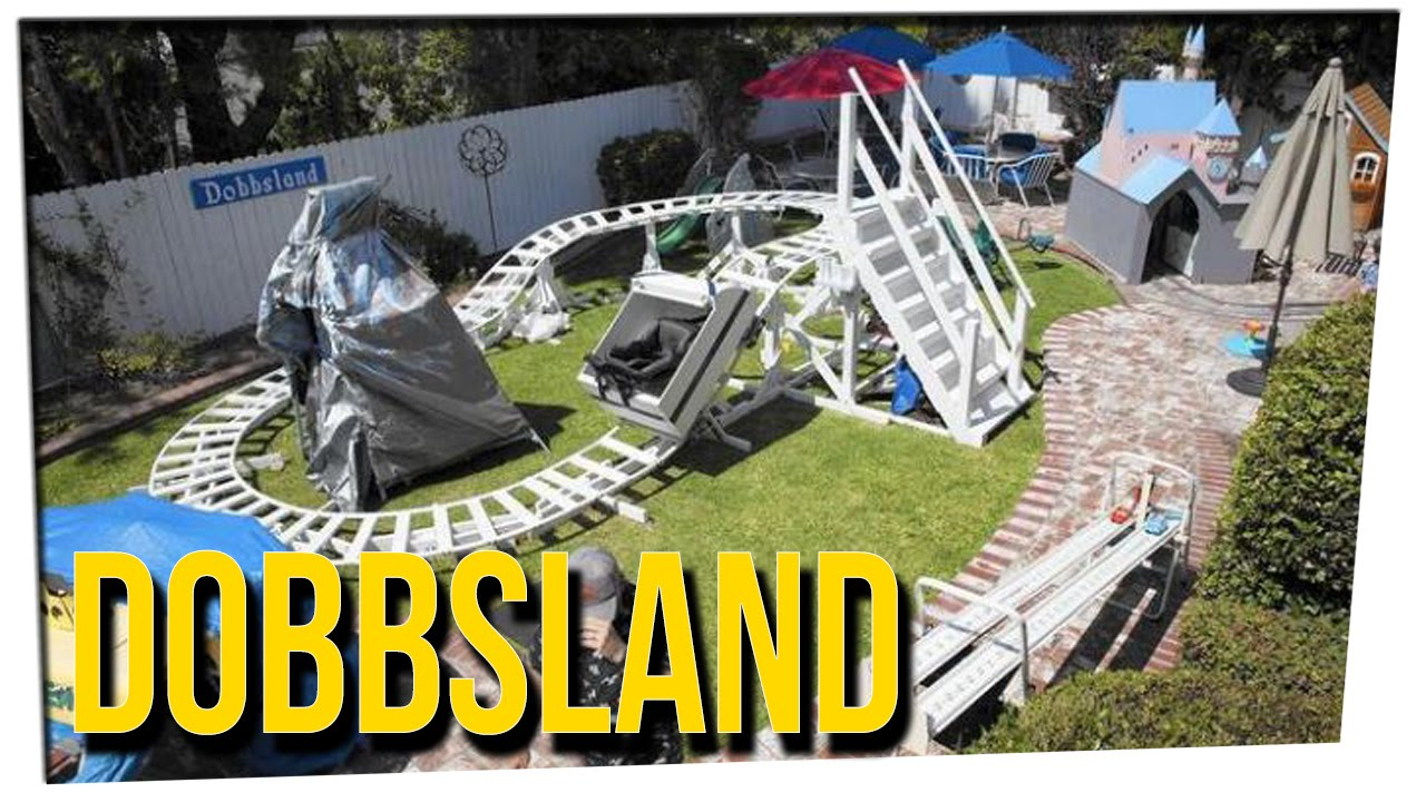 Grandpa Builds Disneyland In His Backyard