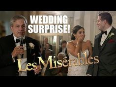 "Surprise Wedding Flash Mob Of ""Les Miserables"""