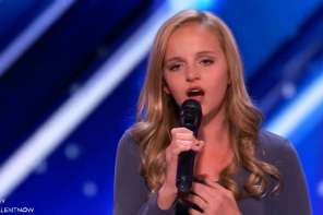 She Sings Song For Her Dying Dad