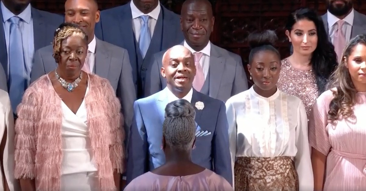 """Stand By Me"" Performed By Karen Gibson And The Kingdom Choir AT The Royal Wedding"