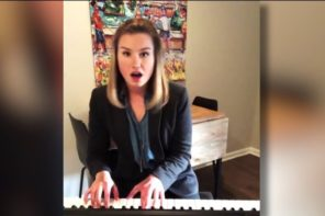 Woman Lands A Job With Singing Resume